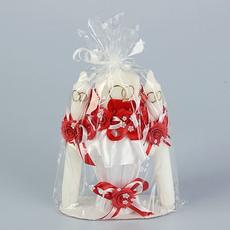 Набор свечей «Семейный очаг», 3 шт., красный Свадебные аксессуары