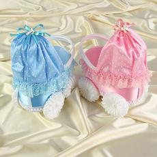 Набор колясок «На дочку, на сына», розовая и голубая, 2 шт. Свадебные аксессуары