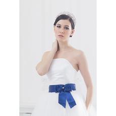 """Свадебное платье """"Элен премиум"""" молочное/белое, без шлейфа, атласный корсет 42-44 Свадебные аксессуары"""
