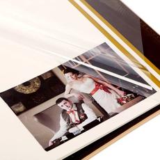 """Фотоальбом с вышивкой в подарочной коробке """"Вместе навсегда"""", экокожа, 20 магнитных листов Подарки и сувениры"""