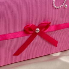 Коробка для денег «Айро», ярко-розовая, неразборная Свадебные аксессуары