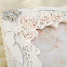 """Книга для пожеланий """"Элегантная Роза"""", полистоун 20*1*25см. Свадебные аксессуары"""