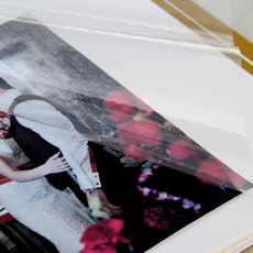 """Фотоальбом в подарочной коробке """"Наша история"""", экокожа, 20 магнитных листов Подарки и сувениры"""