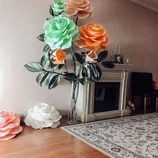 Интерьерные композиции из ростовых цветов Услуги