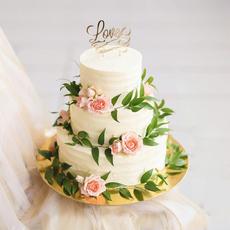 Праздничный торт 5 кг, домашняя кондитерская Дашкины Вкусняшки72 Свадебные аксессуары