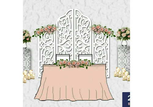 Декор президиума стандарт 3 - Wedstars Декор