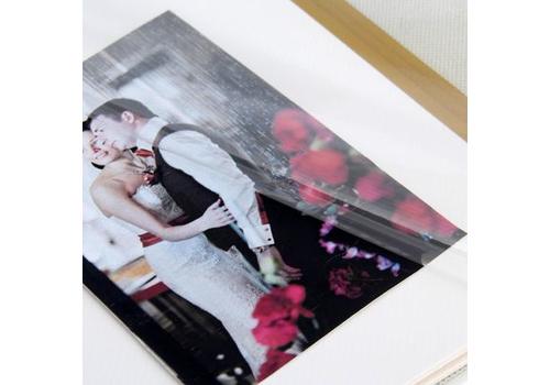 """Фотоальбом в подарочной коробке """"Наша свадьба"""", экокожа, 20 магнитных листов Подарки и сувениры"""